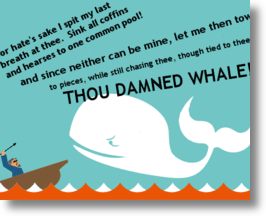 Fail Whale as Moby Dick