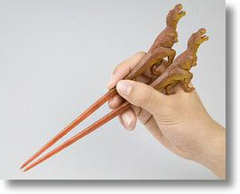 Dinosaur Chopsticks Make Mealtimes More Messy-zoic