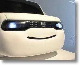 Nissan's Smiling Car Concept Turns Road Rage to Highway Happiness