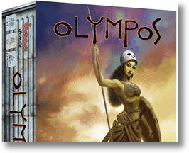 New Olympos board game.