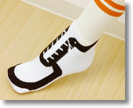 Innovative 'Shoe Socks' Show Off Japan's Sole
