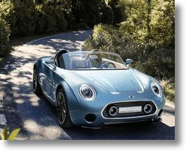 MINI Superleggera Vision: British History Meets Italian Elegance