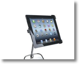 Pedestal Stand For iPad With Toilet Roll Holder