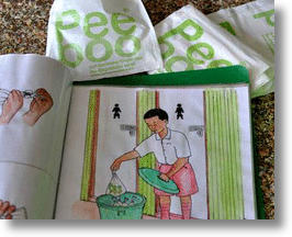 PeePoo Bags from Sweden Reduce Public Health Threats