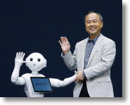 Japanese Billionaire Unveils Pepper, A Robot That Can Read Emotions
