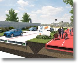 The new plastic road concept from VolkerWessels.