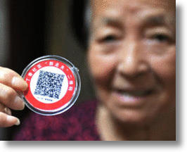 Personalized QR Code Badges Help Keep Elderly Wanderers Safe