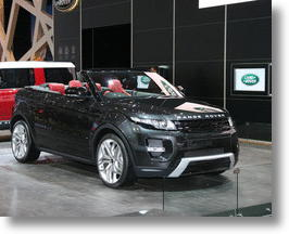 Land Rover Preparing To Introduce Range Rover Evoque Convertible