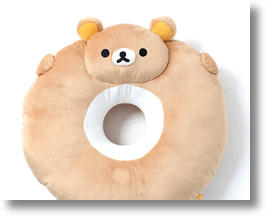 Rilakkuma Donut Cushion Keeps Your Coccyx Cozy