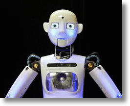 RoboThespian Is The First Commercial Robot To Act Like A Person