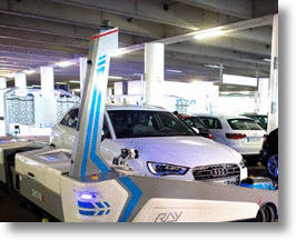Germany's Dusseldorf Airport Will Feature Robotic Valets To Park Cars