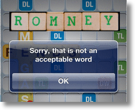 Can 'Romnesia' Be Used In 'Words With Friends?'