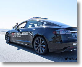 Tesla Model S Could Get The Saleen Treatment