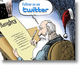 Santa&#039;s List on Twitter