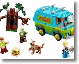 Scooby Doo Mystery Maching LEGO Set