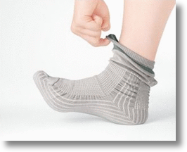 Upwalk anti-stumble socks for senior citizens