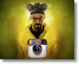 Instagram Breaking Bad for Emmys with Scavenger Hunt