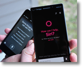 Siri v. Cortana - Who Gets The Last Laugh?
