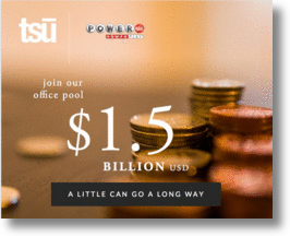 Tsū Social Network Kicks Off First POWERBALL Office Pool For Users