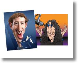 Mark Zuckerberg vs Howard Stern!