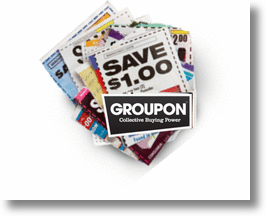 Groupon, the online coupon king!