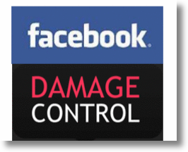 Facebook Damage Control! 