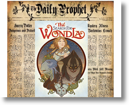 Daily Prophet &amp; The Search for WondLa! 