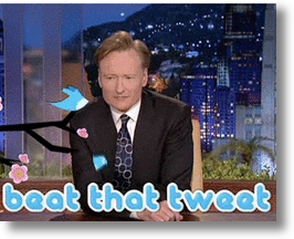 Conan O&#039;Brien&#039;s Twitter Contest!