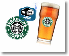 Starbucks' Digital Network & Alcohol Service!