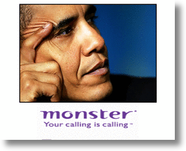 Obama & Monster.com to help Americans find jobs!