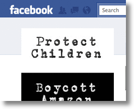 Facebook Boycott of Amazon.com!