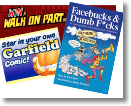 Social Media Entrepreneurs & Garfield Fans Star In Graphic Novel & Comic Strip!