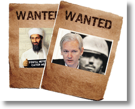 Social Media Leaks Categorize Julian Assange As The Osama Bin Laden Of The Internet!