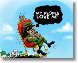 Social Media Chink In Facebook's Privacy Armor Shows Support For Gaddafi?