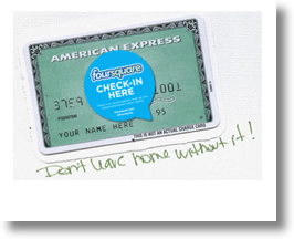 Foursquare &amp; American Express partnership! 