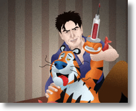 Charile Sheen & Tiger Blood!