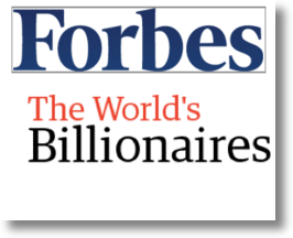 Forbes&#039; World Billionaire List - 2011