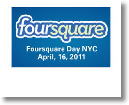 Since 4 Squared Is 16, &quot;Foursquare Day&quot; Must Be 4/16