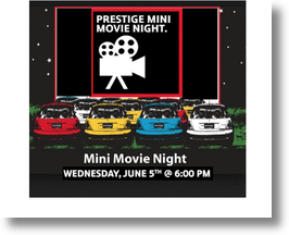 Yesteryear's Drive-In Theater Hosts Prestige's Annual MINI Movie Night