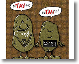 Google Says Potayto, Bing Says Potahto, But Whose Search Is Better In Topeka, Kansas?