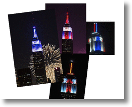 Empire State Building Steals Show With First-Time-Ever Light Show On July, 4, 2013