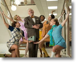 Social Media's Soft Shoe (Sock) Send-off To Mad Men's Bert Cooper