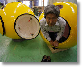 Tsunami Survival Capsules Offer Hope for Japan's Next Great Wave