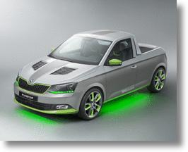 Skoda FUNstar Concept Pickup Truck's A Worth See At Wörthersee