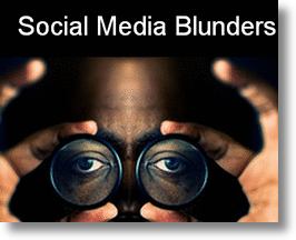 Social Media Blunders