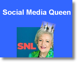 Betty White, Social Media Queen
