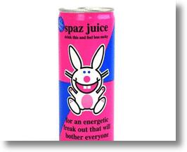 Be A Proud Spaz And Own It By Chugging Down A Can Of Spaz Juice
