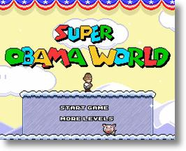 It's Obama vs Palin Again, Onscreen at Super Obama World!