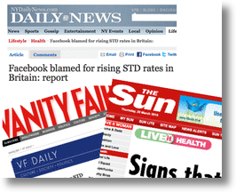 Press Causes Widespread Outbreak of Facebook STDs!