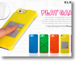 """Play a Game Addiction iPhone 5 Case"" from Elecom"